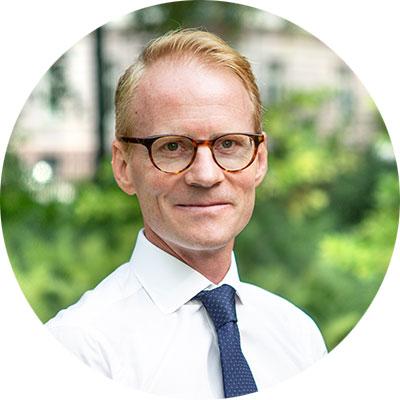 Mattias Larsson, CFO Terranet.